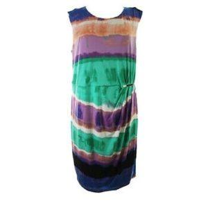 NWT Calvin Klein Watercolour Dress